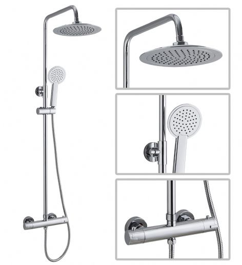 TB - Premium Round Shower Kit